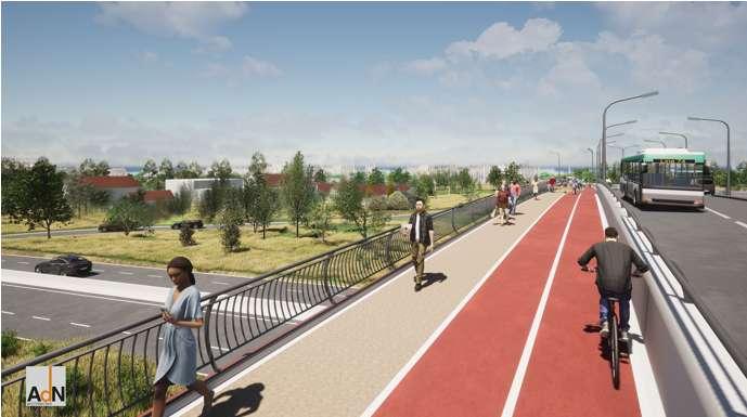 Projet d'aménagement de l'entrée Nord de la commune d'Istres et de réalisation de l'échangeur des Bellons