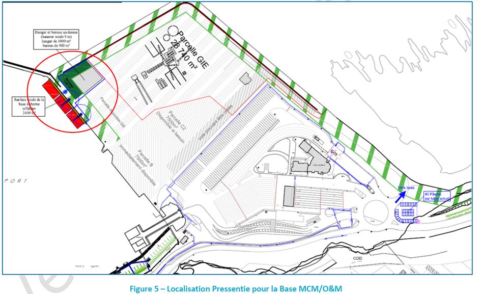 Enquête publique portant sur l'installation d'une base des opérations de maintenance à Dieppe dans le cadre du projet d'installation du parc éolien en