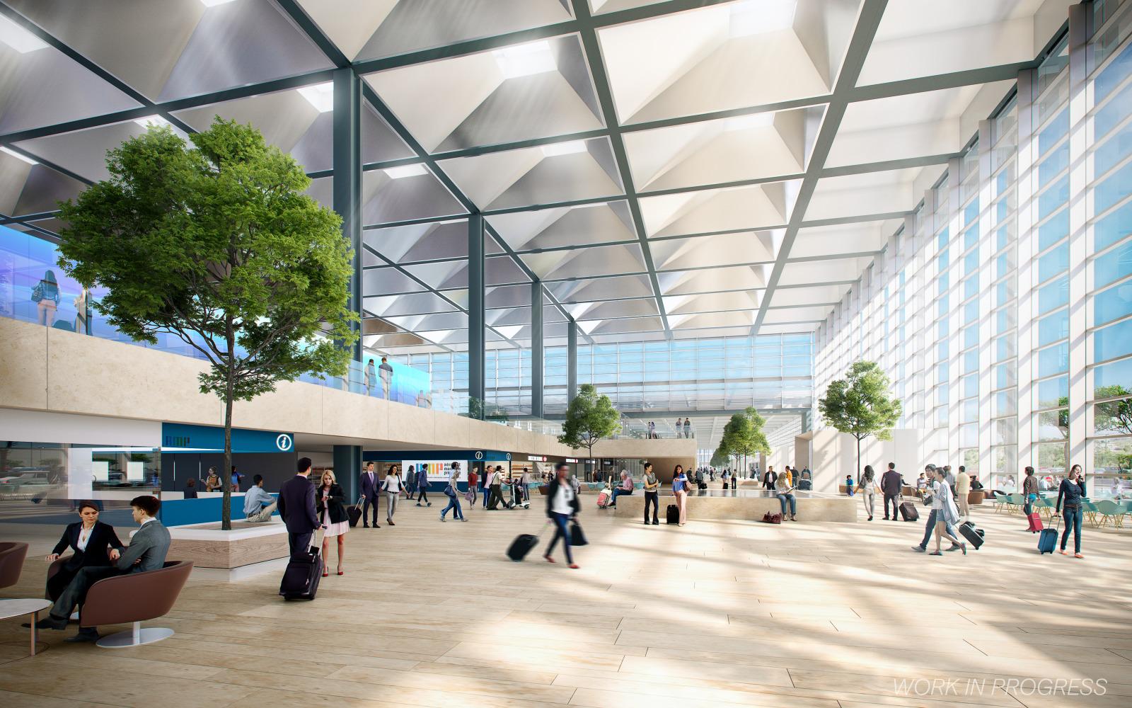 Demande de permis de construire pour l'extension de l'aéroport Aéroport Marseille Provence comprenant la création d'un coeur d'aérogare et le