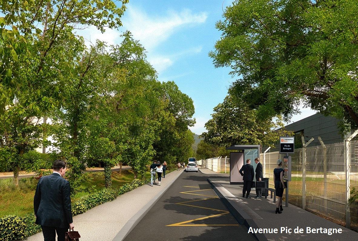 lebus+ Gare d'Aubagne - Zone Industrielle des Paluds - Parc d'Activités de Gémenos