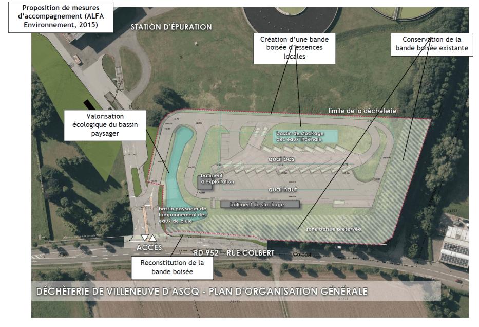 Enquête publique unique ICPE et permis de construire - Projet de déchèterie à Villeneuve d'Ascq
