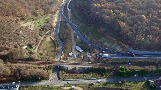 Projet de réalisation de l'aménagement  de la déviation Sud Ouest d'Evreux section