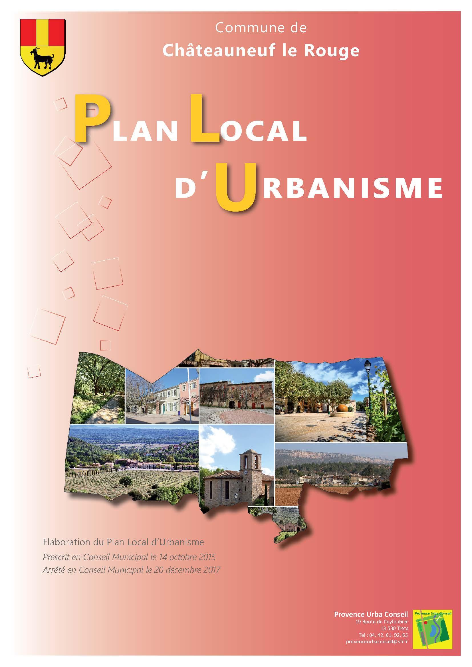 Plan Local d'Urbanisme de la commune de Châteauneuf Le Rouge