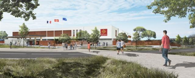 Projet du nouveau lycée Nîmes Ouest