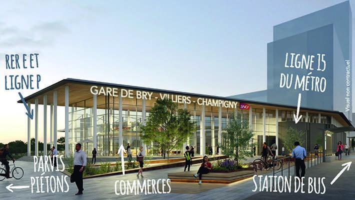 projet de nouvelle gare SNCF de Bry-Villiers-Champigny