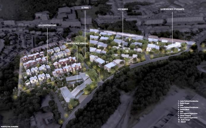 Projet de réaménagement de la zone industrielle Multilom à Lomme - Demande de permis de construire