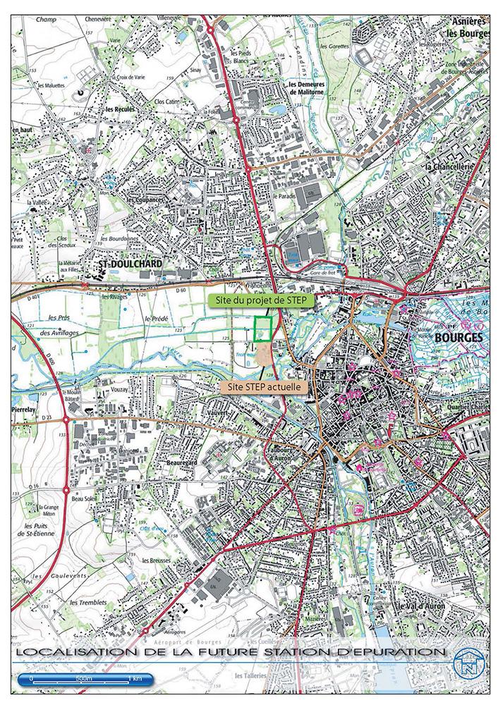 Station d'épuration de Bourges Saint-Sulpice