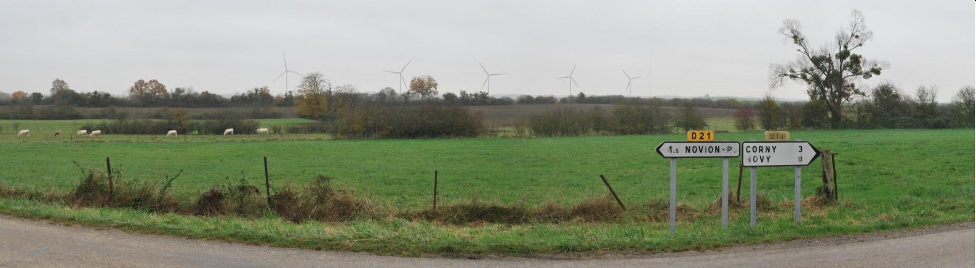 Parc éolien de Novion-CORNY