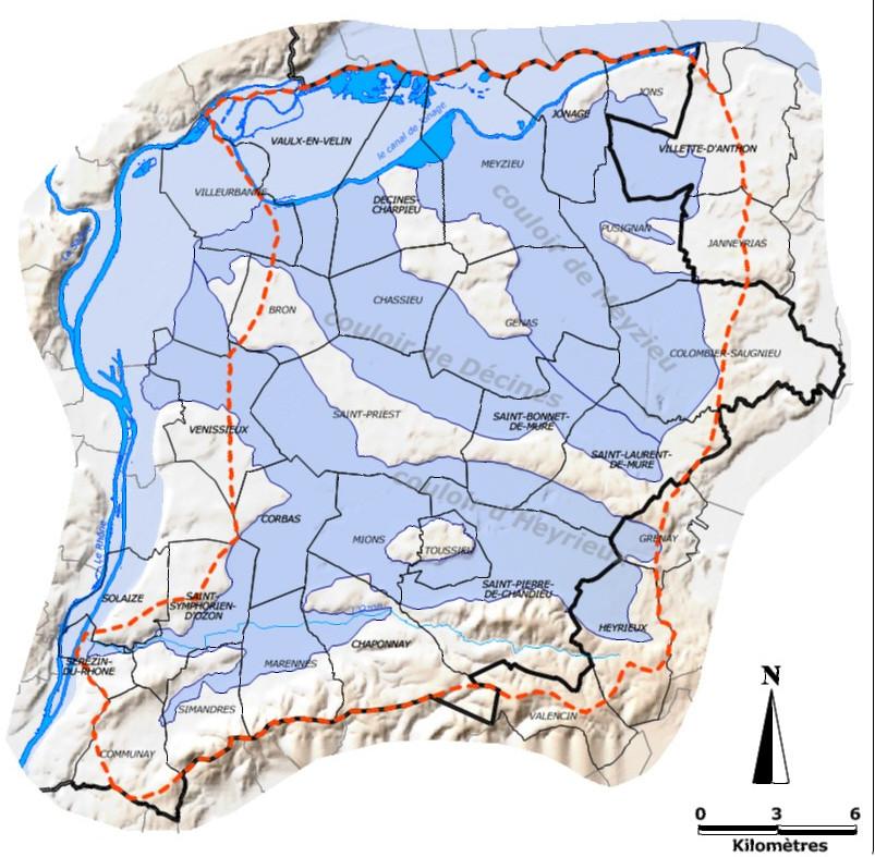 Autorisation pluriannuelle de l'OUGC pour l'irrigation de l'est Lyonnais