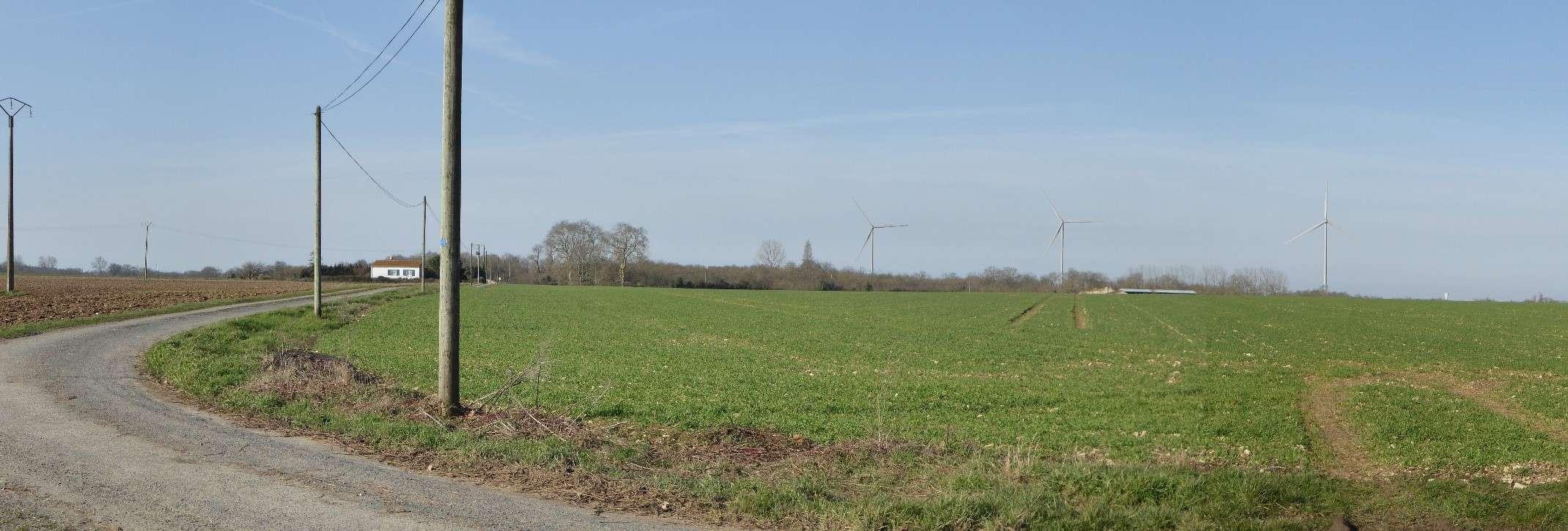 Projet d'un parc éolien sur la commune d'ANDILLY-LES-MARAIS