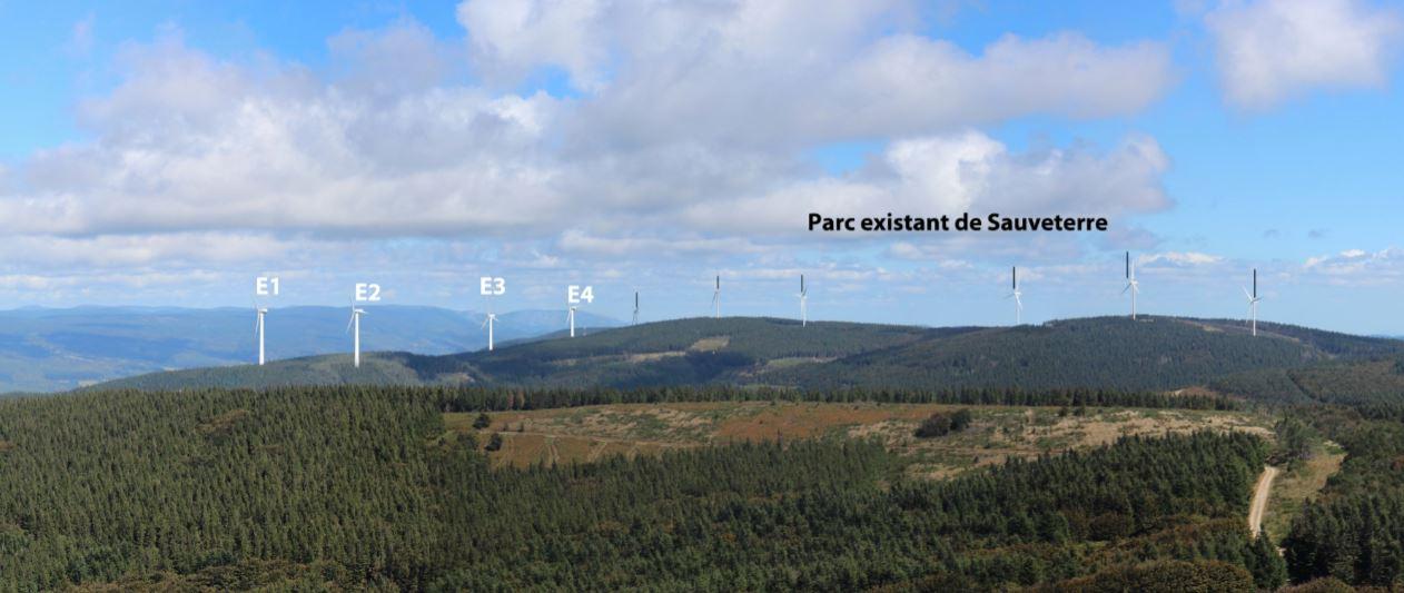 Parc éolien Sauveterre 2