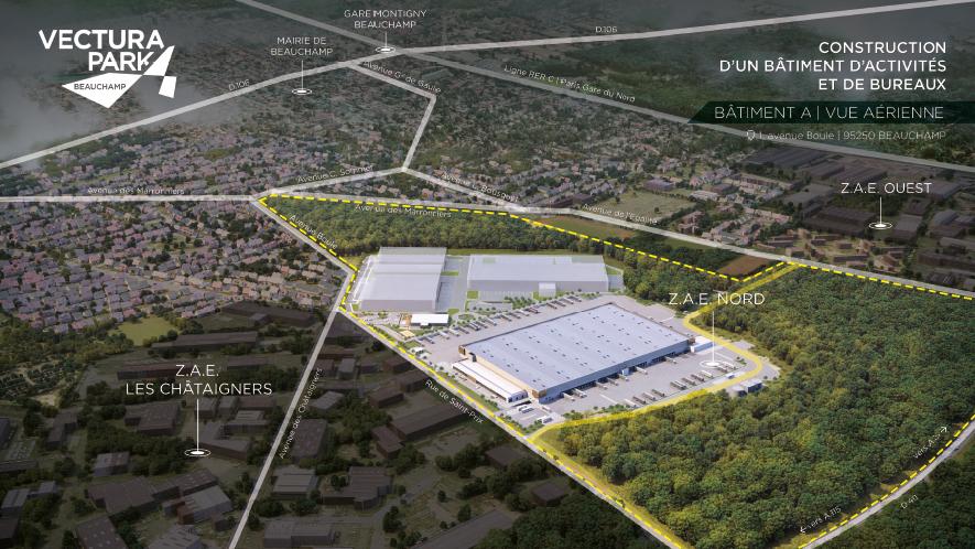 Projet du parc d'activités et logistique-SCI LUCIA-Beauchamp