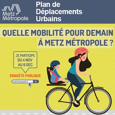 Plan de Déplacements Urbains révisé de Metz Metropole