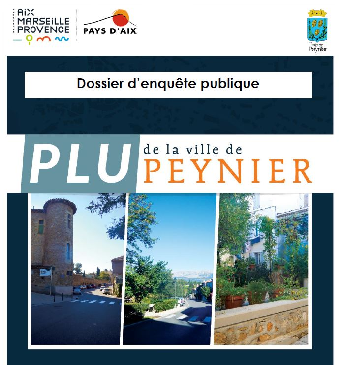 Modification n°1 PLU de la commune de Peynier