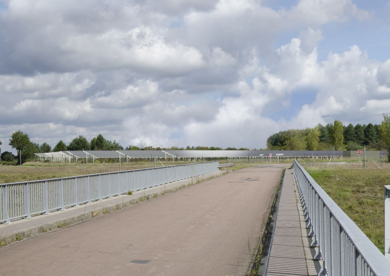 Centrale photovoltaïque de Briare