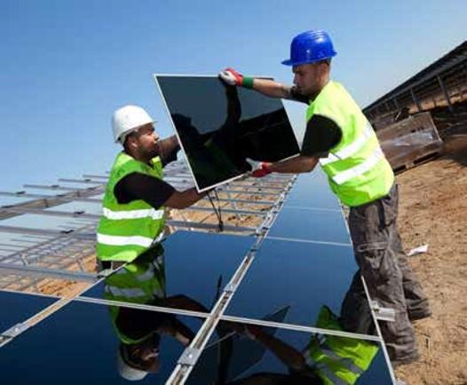 projet du parc photovoltaïque du CET de Dijon