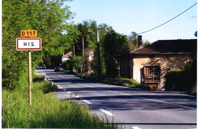 Projet de Plan Local d'Urbanisme de la commune de HIS
