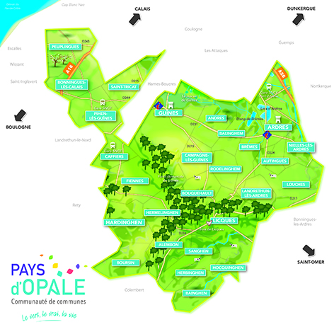 Plan Local d'Urbanisme Intercommunal version 2 de la Communauté de Communes Pays d'Opale