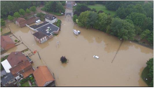 Projet de plan de prévention du risque inondation du bassin versant de la Lawe