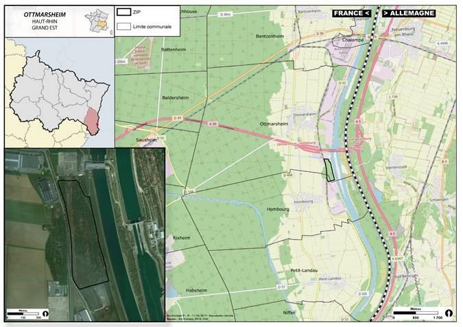 Autorisation de défricher une surface de 1,55 ha pour le projet solaire photovoltaïque d'Ottmarsheim