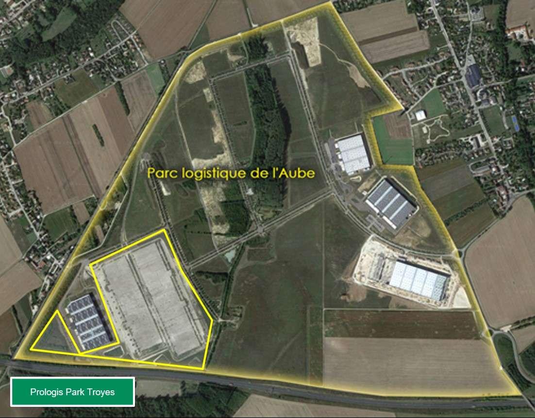 Projet de construction de deux plateformes logistiques dans le parc logistique de l'Aube sis sur le territoire de la commune de Saint-Lèger