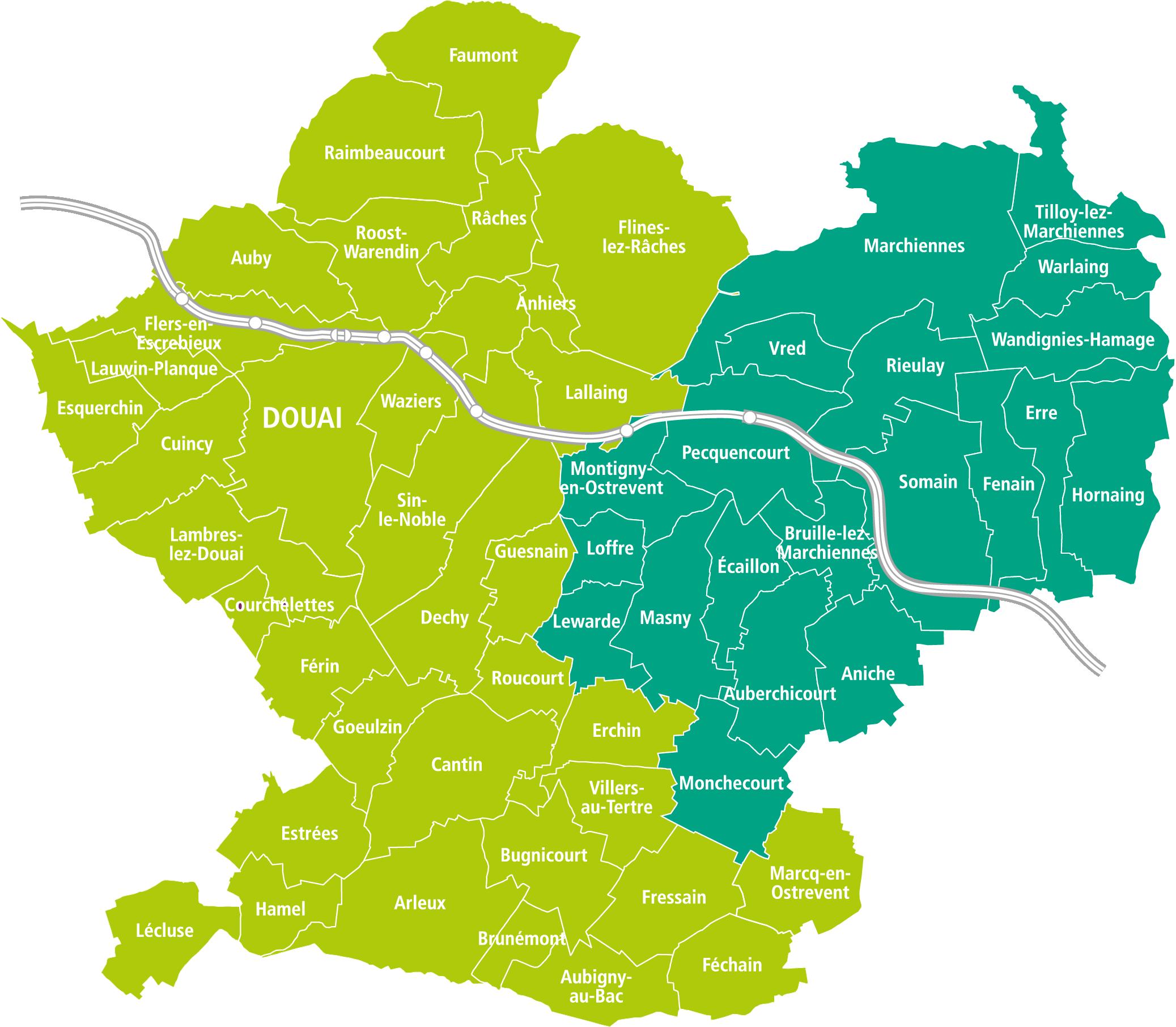 Enquête Publique relative au Schéma de Cohérence Territoriale (SCoT) du Grand Douaisis