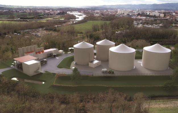 Projet de méthanisation de boues issues de station d'épuration des eaux usées et de biodechets