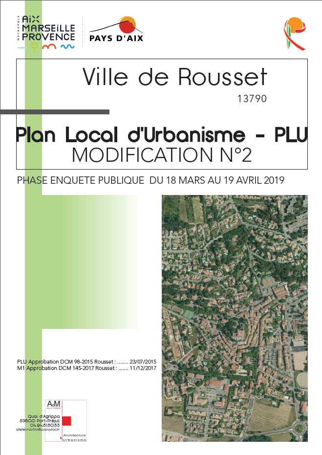 MODIFICATION N°2 DU PLAN LOCAL D'URBANISME (P.L.U.) - ENQUÊTE PUBLIQUE