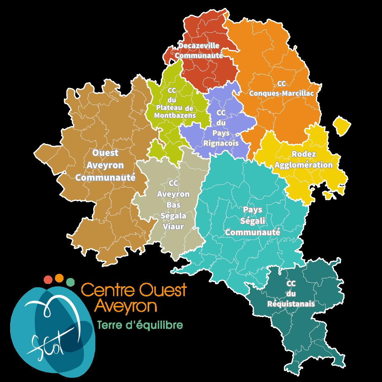 Le projet de Schéma de Cohérence Territoriale Centre Ouest Aveyron