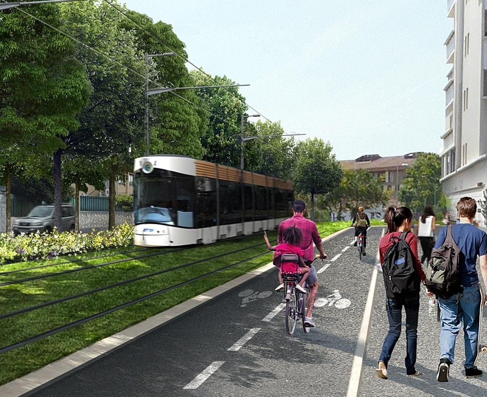 Extensions Nord et Sud du réseau de tramway de Marseille et création d'un site de maintenance et remisage