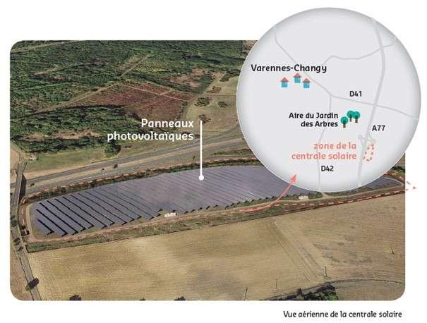 Projet de centrale solaire sur la commune de Varennes-Changy