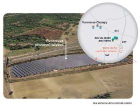 Projet de centrale solaire sur la commune de Varen...