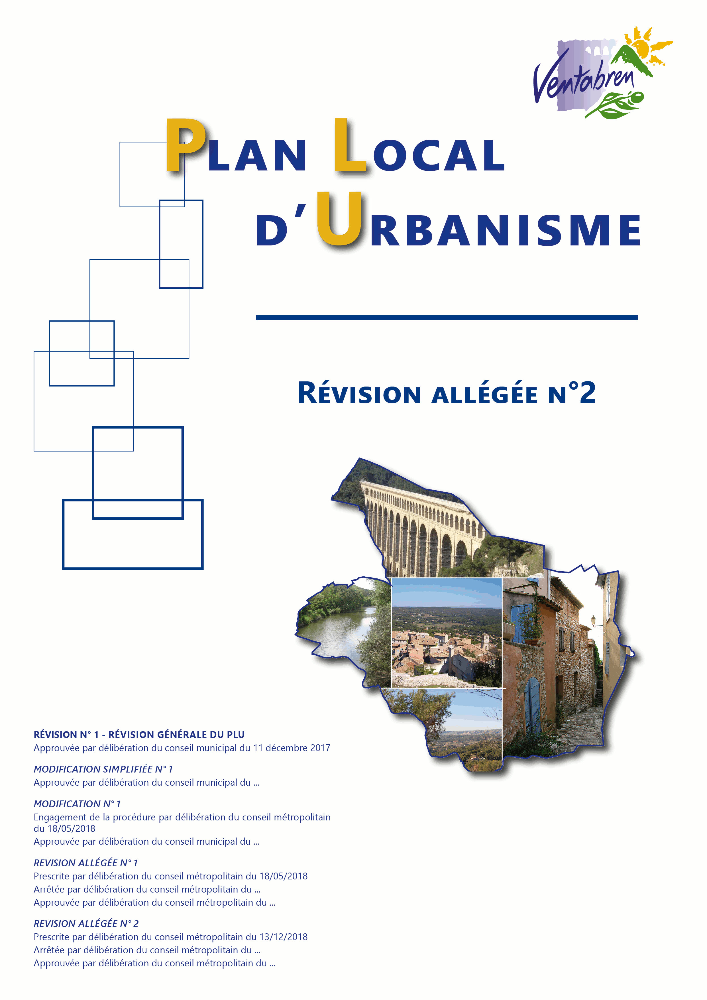 Révision allégée N°2 du Plan Local d'Urbanisme de la commune de Ventabren