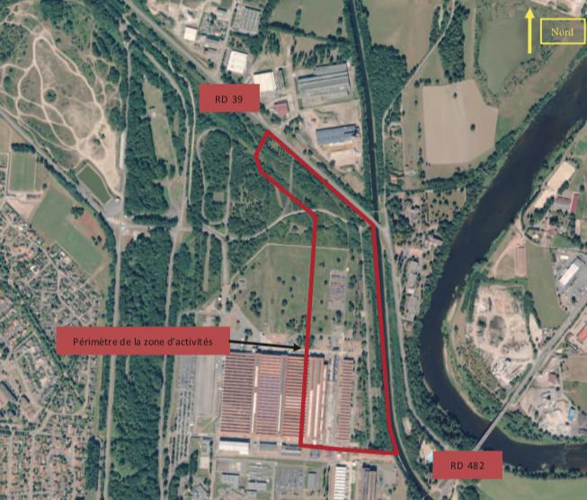 Enquête publique relative au Projet de création d'une zone d'activités intercommunale dénommée « Nexter » préalablement à son autorisation.
