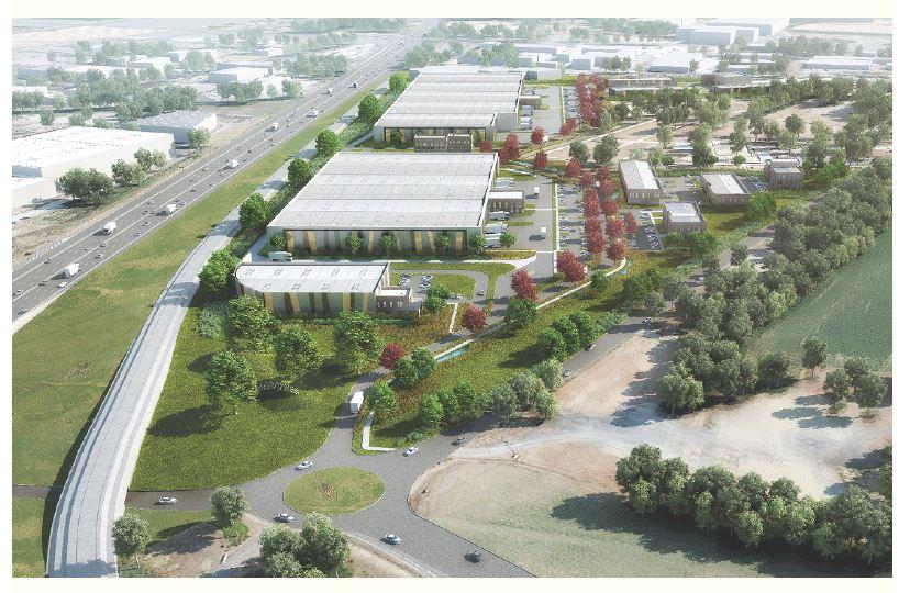 Projet d'aménagement de la ZAC «Les Goucheronnes» - Commune de La Boisse.